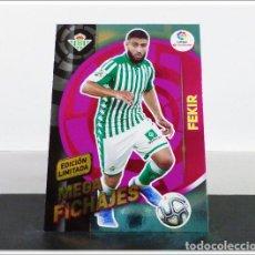 Cromos de Fútbol: MEGACRACKS 2019 2020 19 20 PANINI FEKIR EDICIÓN LIMITADA FICHAJE BETIS ALBUM LIGA CARD MGK. Lote 271022343