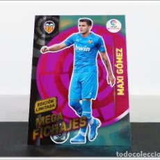 Cromos de Fútbol: MEGACRACKS 2019 2020 19 20 PANINI MAXI GOMEZ EDICIÓN LIMITADA FICHAJE VALENCIA ALBUM LIGA CARD MGK. Lote 271022473