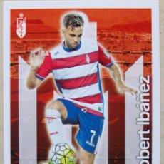Cromos de Fútbol: 562 ROBERT IBAÑEZ GRANADA CF FICHAS ALBUM MUNDICROMO 2015 2016 15 16. Lote 271023468