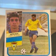 Cromos de Fútbol: ARTEAGA CADIZ ESTE 89 90 COLOCA VERSION DIFICIL. Lote 271373003