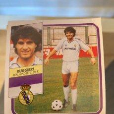 Cromos de Fútbol: RUGGIERI REAL MADRID 89 90 CORRECTO. Lote 271374973