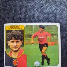 Cromos de Fútbol: ARMANDO MALLORCA ESTE 1991 1992 CROMO FUTBOL LIGA 91 92 - SIN PEGAR - 765. Lote 271622943