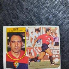 Cromos de Fútbol: PEPIN OSASUNA ESTE 1991 1992 CROMO FUTBOL LIGA 91 92 - SIN PEGAR - 767. Lote 271623408