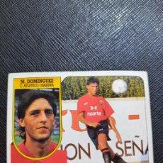 Cromos de Fútbol: MARTIN DOMINGUEZ OSASUNA ESTE 1991 1992 CROMO FUTBOL LIGA 91 92 - SIN PEGAR - 768. Lote 271623578