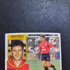 Cromos de Fútbol: LARRAINZAR II OSASUNA ESTE 1991 1992 CROMO FUTBOL LIGA 91 92 - SIN PEGAR - 769. Lote 271623733