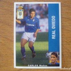 Cromos de Fútbol: CROMO PANINI LIGA LFP 95 96 CARLOS (OVIEDO) - SIN PEGAR - FUTBOL 1995 1996. Lote 271623903