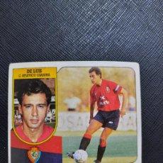 Cromos de Fútbol: DE LUIS OSASUNA ESTE 1991 1992 CROMO FUTBOL LIGA 91 92 - SIN PEGAR - 772. Lote 271624078