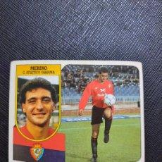 Cromos de Fútbol: MERINO OSASUNA ESTE 1991 1992 CROMO FUTBOL LIGA 91 92 - SIN PEGAR - 775. Lote 271624478