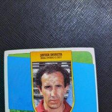 Cromos de Fútbol: JAVIER IRURETA OVIEDO ESTE 1991 1992 CROMO FUTBOL LIGA 91 92 - SIN PEGAR - 777. Lote 271624843