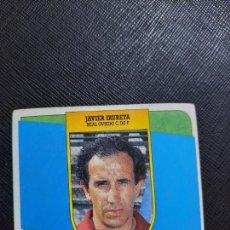 Cromos de Fútbol: JAVIER IRURETA OVIEDO ESTE 1991 1992 CROMO FUTBOL LIGA 91 92 - SIN PEGAR - 778. Lote 271624928