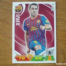 Cromos de Fútbol: ADRENALYN LIGA 2011 2012 PANINI Nº 47 XAVI (FC BARCELONA) - CROMO BARÇA. Lote 271625138