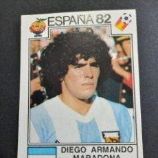 Figurine di Calcio: CROMO MARADONA N 176 MUNDIAL ESPAÑA 1982 PANINI. Lote 271936108