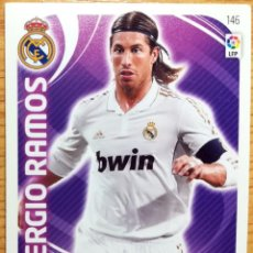 Cartes à collectionner de Football: CARD ADRENALYN PANINI 11 12 REAL MADRID Nº 146 SERGIO RAMOS 2011 2012. Lote 272545498