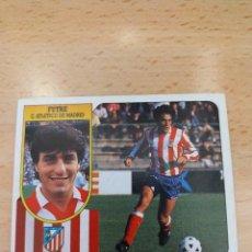 Figurine di Calcio: CROMO 91/92 LIGA ESTE. FUTRE. ATLETICO DE MADRID. NUNCA PEGADO.. Lote 272738293