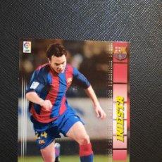 Cartes à collectionner de Football: INIESTA BARCELONA PANINI MEGACRACKS 04 05 CROMO FUTBOL LIGA 2004 2005 - A42 - 67. Lote 273422078