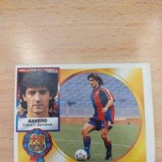 Figurine di Calcio: CROMO 94/95 LIGA ESTE. BAKERO. BARCELONA. NUNCA PEGADO.. Lote 273993643