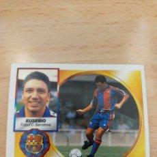Figurine di Calcio: CROMO 94/95 LIGA ESTE. EUSEBIO. BARCELONA. NUNCA PEGADO.. Lote 273994613