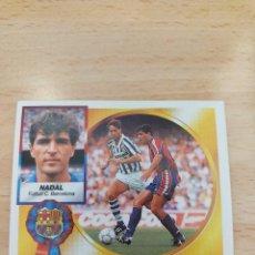 Figurine di Calcio: CROMO 94/95 LIGA ESTE. NADAL. BARCELONA. NUNCA PEGADO.. Lote 273996898