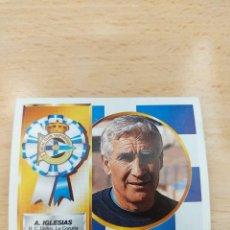 Figurine di Calcio: CROMO 94/95 LIGA ESTE. ARSENIO IGLESIAS. DEPORTIVO. NUNCA PEGADO.. Lote 274603283