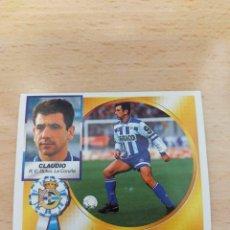 Figurine di Calcio: CROMO 94/95 LIGA ESTE. CLAUDIO. DEPORTIVO. NUNCA PEGADO.. Lote 274604563
