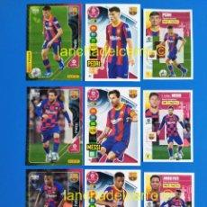 Cromos de Fútbol: MEGACRACKS - ADRENALYN XL - LIGA ESTE 2020 2021 / 20 21 MESSI - ANSU FATI - PEDRI. Lote 255374130