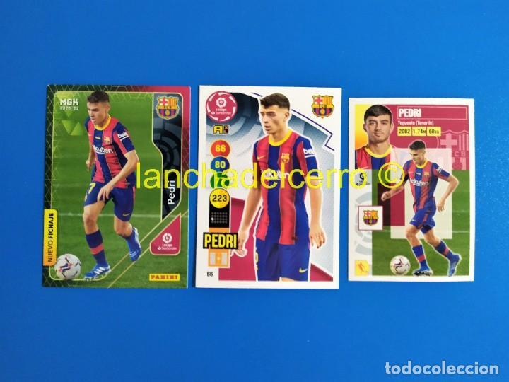 PEDRI ROOKIE MEGACRACKS - LIGA ESTE - ADRENALYN 2020 2021 / 20 21 (BARCELONA) MGK PANINI (Coleccionismo Deportivo - Álbumes y Cromos de Deportes - Cromos de Fútbol)