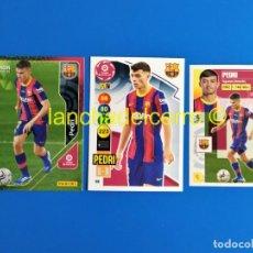 Cromos de Fútbol: PEDRI ROOKIE MEGACRACKS - LIGA ESTE - ADRENALYN 2020 2021 / 20 21 (BARCELONA) MGK PANINI. Lote 263603395