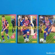Cromos de Fútbol: MEGACRACKS 2020 2021 / 20 21 PEDRI Nº 430 ROOKIE - MESSI Nº 70 - ANSU FATI Nº 71 (BARCELONA) MGK. Lote 268266584