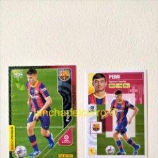 Cromos de Fútbol: PEDRI (BARCELONA) MEGACRACKS - LIGA ESTE 2020 2021 / 20 21 ROOKIE MGK. Lote 268459794