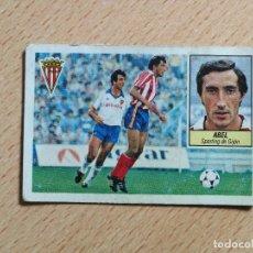 Cromos de Fútbol: ABEL, BAJA SPORTING DE GIJÓN, EDITORIAL ESTE 84/85, DESPEGADO. Lote 275270878