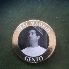 Cromos de Fútbol: TAZOS GENTO R. MADRID. Lote 275302548