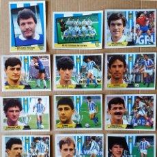 Cromos de Fútbol: ESTE - LIGA 87/88 - 1987 1888 - LOTE 15 CROMOS REAL SOCIEDAD - RECORTADOS. Lote 276044103