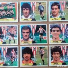 Cromos de Fútbol: ESTE - LIGA 87/88 - 1987 1888 - LOTE 9 CROMOS ATHLETIC DE BILBAO - RECORTADOS. Lote 276044918