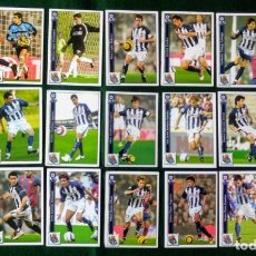 Cromos de Fútbol: LOTE 21 CROMOS CROMO CARTA FUTBOL FICHAS LIGA 2005 2006 05 06 MUNDICROMO REAL SOCIEDAD. Lote 276174623