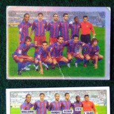 Cromos de Fútbol: CROMO CARTA ALINEACION BARCELONA 550 FICHAS LIGA 2005 2006 05 06 MUNDICROMO. Lote 276180393