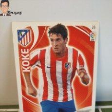 Cromos de Fútbol: KOKE Nº 29 (ATLETICO DE MADRID) CROMO TARJETA LIGA ADRENALYN PANINI 2011 2012 11 12 CARD FICHA. Lote 276415273