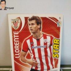 Cromos de Fútbol: LLORENTE Nº 16 (ATHLETIC CLUB BILBAO) CROMO TARJETA LIGA ADRENALYN PANINI 2011 2012 11 12 CARD FICHA. Lote 276415433