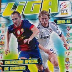 Cromos de Fútbol: ALBUM EDICIONES ESTE 2013-14 CONTIENE 141 CROMOS. Lote 276436263