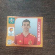 Cromos de Fútbol: ACTUALIZACIÓN ESPAÑA EUROCOPA 2020 DIEGO LLORENTE A4 EURO 20. Lote 276468213