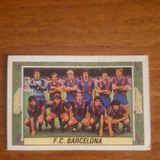 Cromos de Fútbol: ALINEACIÓN FC BARCELONA LIGA 84-85 ESTE CON MARADONA. NUNCA PEGADO. Lote 276591468