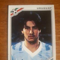 Cromos de Fútbol: N° 326 JORGE DA SILVA (URUGUAY) MUNDIAL MÉXICO 86 ED. PANINI. NUNCA PEGADO. Lote 276592118