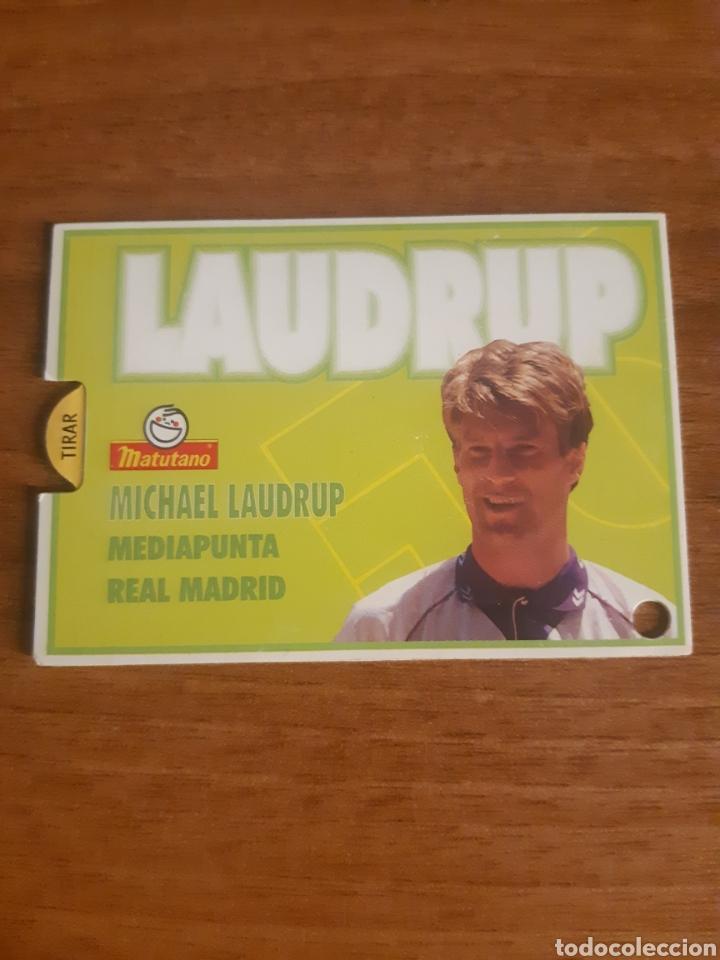 Cromos de Fútbol: N°7 Laudrup (Real Madrid) magic card Matutano 94-95 - Foto 3 - 276593673