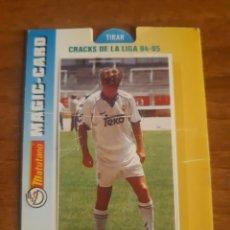 Cromos de Fútbol: N°7 LAUDRUP (REAL MADRID) MAGIC CARD MATUTANO 94-95. Lote 276593673