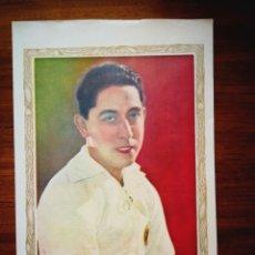 Cromos de Fútbol: PAULINO ALCANTARA - HOJA CON GRAN FOTOGRAFÍA DE 1928 - 19,8 X 30 CM - MUY BUEN ESTADO. Lote 276683523