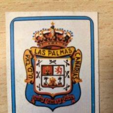 Cromos de Fútbol: # 131 ESCUDO UD LAS PALMAS FUTBOL 75/76 VULCANO SIN PEGAR MUY BUEN ESTADO. Lote 276740028