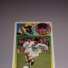 Figurine di Calcio: CROMO 93/94 LIGA ESTE. ZAMORANO. REAL MADRID.. Lote 276744788