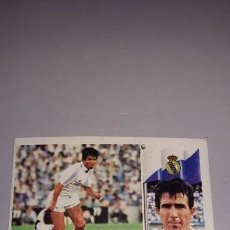 Figurine di Calcio: CROMO 86/87 LIGA ESTE. JUANITO. REAL MADRID. NUNCA PEGADO.. Lote 276746053