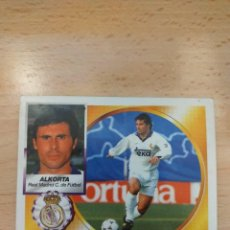 Figurine di Calcio: CROMO 94/95 LIGA ESTE. ALKORTA. REAL MADRID. NUNCA PEGADO.. Lote 276750608