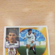 Figurine di Calcio: CROMO 94/95 LIGA ESTE. MICHEL. REAL MADRID. NUNCA PEGADO.. Lote 276751288