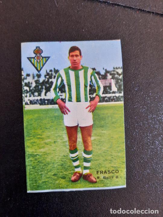 FRASCO REAL BETIS FHER 1967 1968 CROMO FUTBOL LIGA 67 68 - DESPEGADO - A44 - PG379 (Coleccionismo Deportivo - Álbumes y Cromos de Deportes - Cromos de Fútbol)